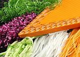 Дополнительная вставка 1,6 для овощерезки Бернер Оптима Оранжевая, фото 2