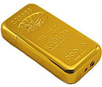 Зажигалка карманная слиток золота