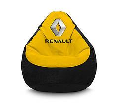 """Кресло мешок """"Renault"""" Флок"""