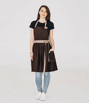 Фартух плаття Vanilla Коричневий