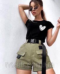 Жіноча стильна футболка