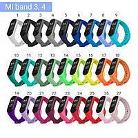 Ремешок к браслету Mi Band 3 / 4 силиконовый