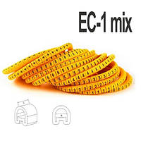 Набор кабельных маркировок ЕС-1  (1,5 - 4мм2)