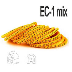 Набір кабельних маркувань ЄС-1 (1,5 - 4мм2), фото 2
