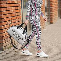 Сумка жіноча Victoria's Secret, сумка для подорожі спортивна і дорожня! Преміум якість, репліка!, фото 3