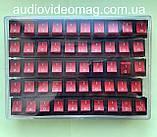 Переключатель клавишный 28.5 х 22 мм, 30А 250V, 4 контакта, фото 2