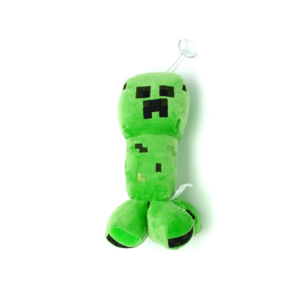 Мягкая игрушка из игры Майнкрафт Крипер 21см с присоской (16015)