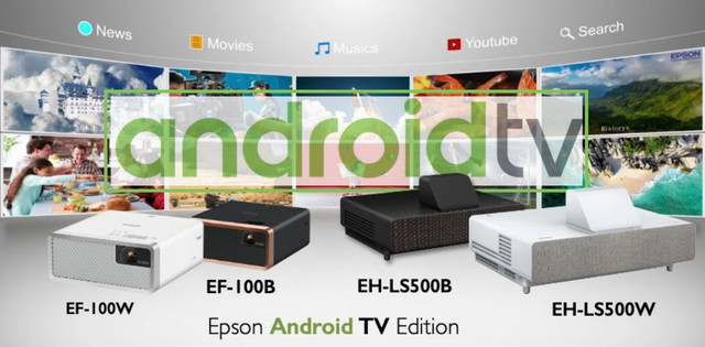 Epson EF-100 Android TV Edition