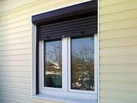 Ролеты защитные на окна ручные ширина 1500 высота 2000