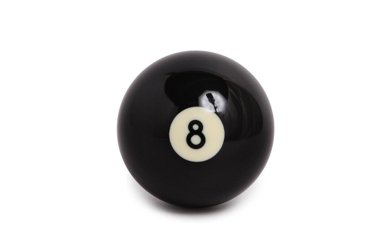 Бильярдный шар №8 Pool 57,2мм