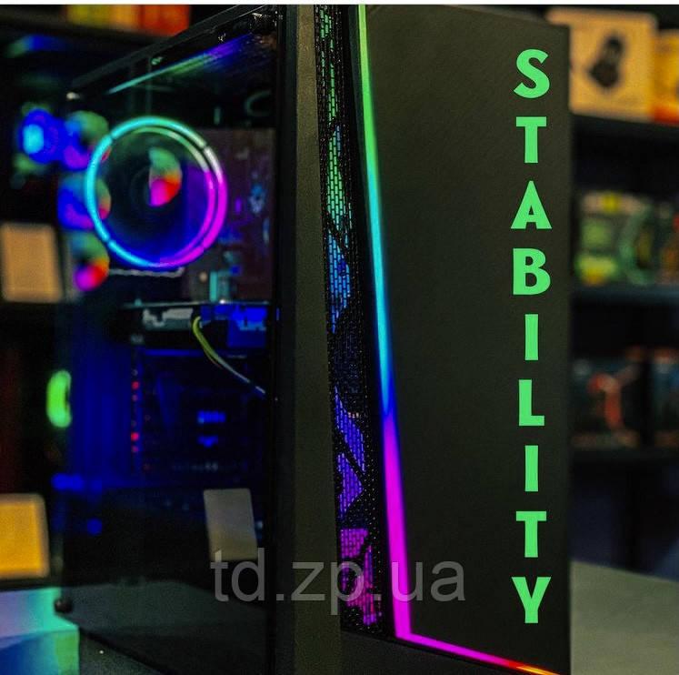 Игровой компьютер Intel Core i3-10100f + GTX 1060 3Gb + 8Gb + HDD 500gb
