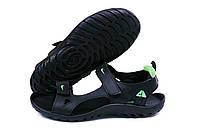 Чоловічі шкіряні сандалі Nike NS green (репліка)
