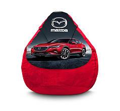 """Кресло мешок """"Mazda. CX-4"""" Флок"""