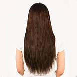 Волосы на заколках 50 см. Цвет #04 Шоколад, фото 4