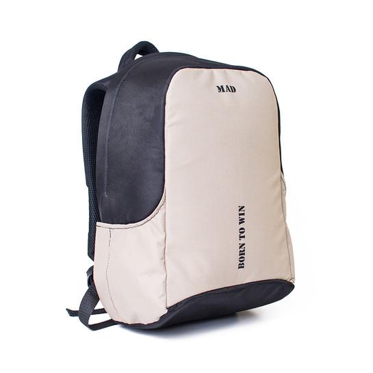 Рюкзак антивор для ноутбука BOOSTER бежевый от MAD™