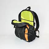 Міський спортивний рюкзак Tamix чорний з оранжевим від MAD | born to win™, фото 2