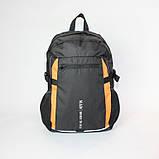 Міський спортивний рюкзак Tamix чорний з оранжевим від MAD | born to win™, фото 3