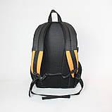 Міський спортивний рюкзак Tamix чорний з оранжевим від MAD | born to win™, фото 4