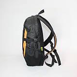 Міський спортивний рюкзак Tamix чорний з оранжевим від MAD | born to win™, фото 5