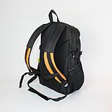 Міський спортивний рюкзак Tamix чорний з оранжевим від MAD | born to win™, фото 7