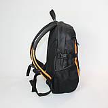 Міський спортивний рюкзак Tamix чорний з оранжевим від MAD | born to win™, фото 8