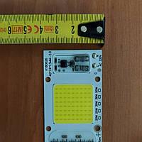 Светодиодная матрица 50w 6000к 220v для прожектора с встроенным драйвером