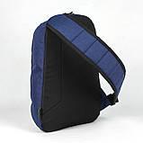 Слинг рюкзак WING синий от MAD | born to win™, фото 4