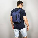 Слинг рюкзак WING синий от MAD | born to win™, фото 7