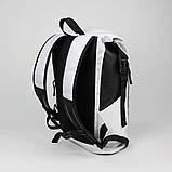 Рюкзак Piligrim білий від MAD | born to win™, фото 4