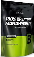 Креатин моногидрат 100% Creatine Monohydrate BioTech (500 грамм) пакет