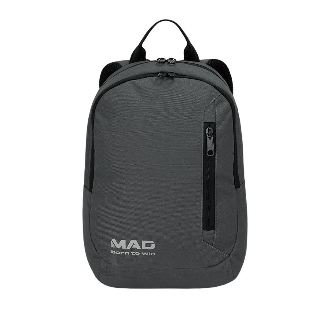 Небольшой городской женский рюкзак FLIP серый от MAD   born to win™