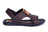 Чоловічі шкіряні сандалі Timberland (репліка)