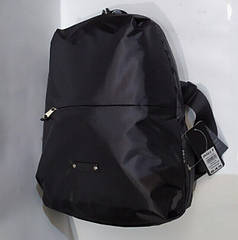 Городской рюкзак молодежный легкий для прогулок черный Dolly 845