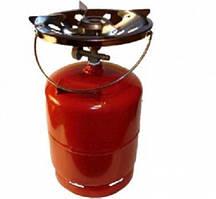Газова пальник, 8 літрів, набір для туриста, газова плита Турист, газ пропан, примус