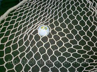 Сетка для тренажёра для гольфа, яч. 25х25мм, нить 3,0мм, полипропилен, (105кгс)