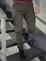 Штаны карго брюки мужские весенние осенние качественные оливковые хаки Fast Traveller Intruder