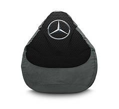 "Кресло мешок ""Mercedes-Benz"" Флок"