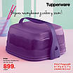 Кондитер «Чарівність» квадратний фіолетовий Tupperware (Оригінал) Тапервер, фото 3