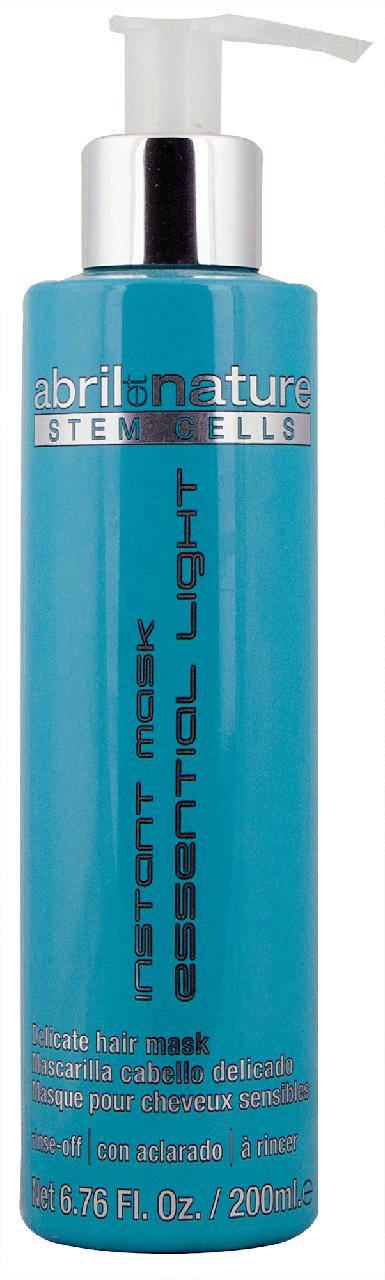 Маска для тонкого і ламкого волосся Abril et Nature Stem Cells Instant Mask Essential Light