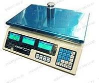 Торговые электронные весы ACS 40 A.R Водонепроницаемая клавиатура Дискретность 5г