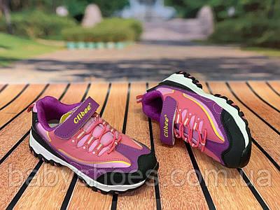 Кроссовки для девочки Clibee р.31 (20 см)  К-121-Black