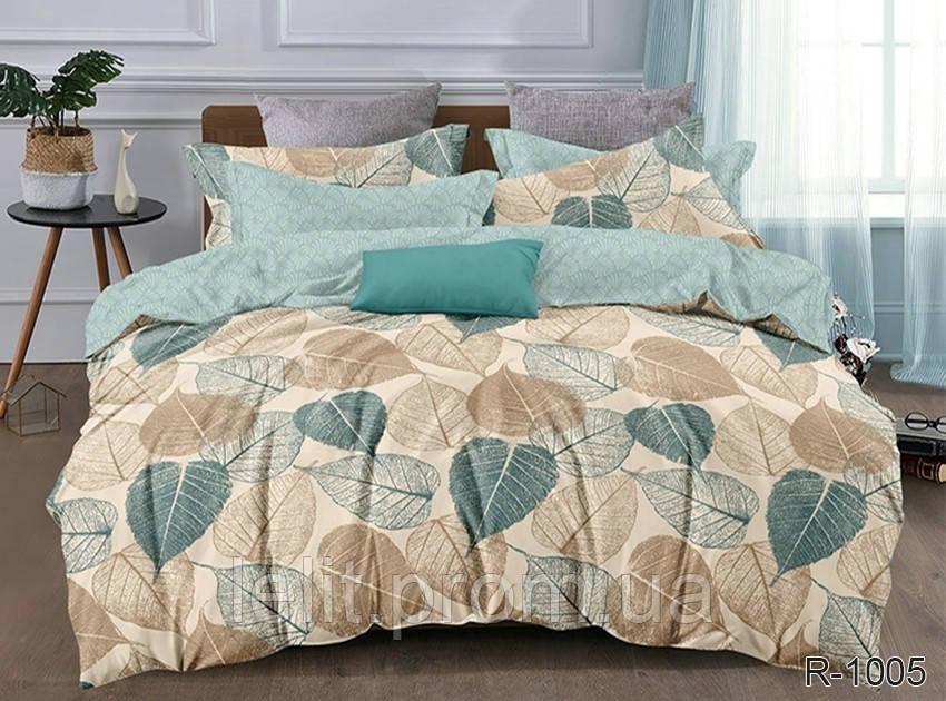 Двуспальный комплект постельного белья с компаньоном R1005