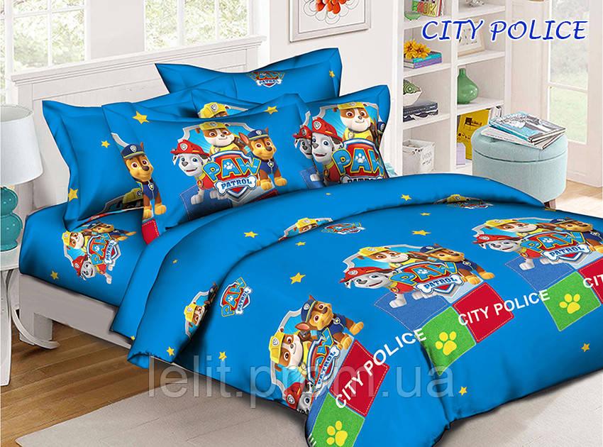 Комплект постельного белья CITY POLICE