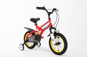 """Детский двухподвесной велосипед Sniper 18"""""""
