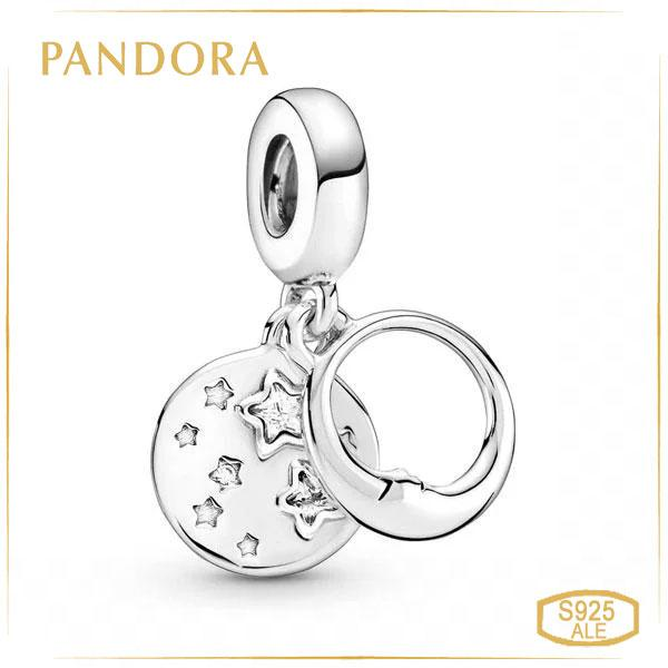 Пандора Підвіска Спляча місяць і зірки Pandora 799242C01