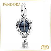 Пандора Шарм Синий воздушный шар Pandora 798064NMB