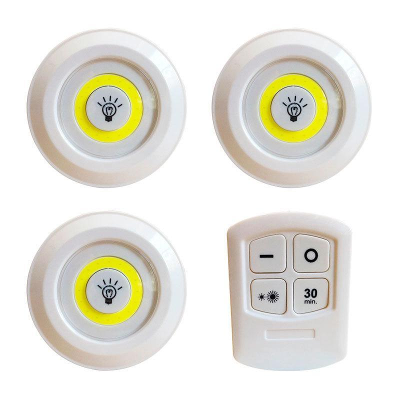 Світлодіодний сенсорний нічник з пультом LED light with Remote Control set