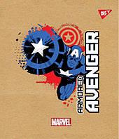 """Тетрадь для записей А5/12 косая YES """"Avenger"""" крафт"""