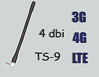 4G+3G+LTE антенна усилением 4dBi TS-9 1штука (Оплата на карту Приват!)