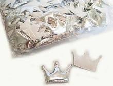 Красивая аппликация кабошон для одежды Корона 10 шт